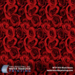 WTP 954 Black Roses Red